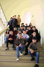 Студенты подготовительного отделения ВГСПУ